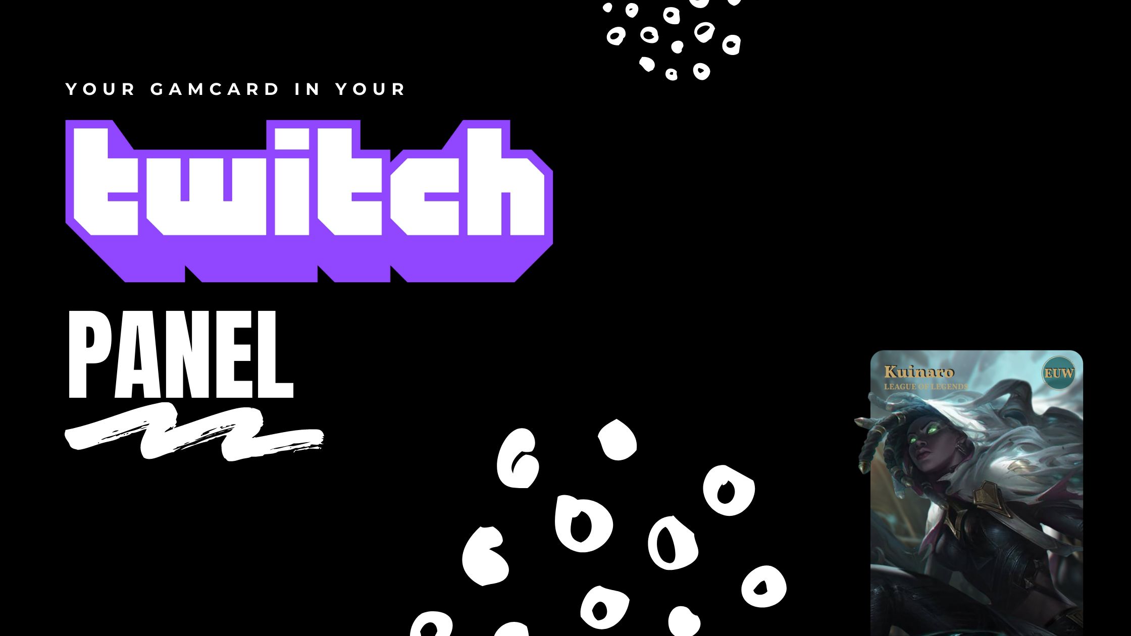 Your flint.gg Gamecard as a Twitch Panel