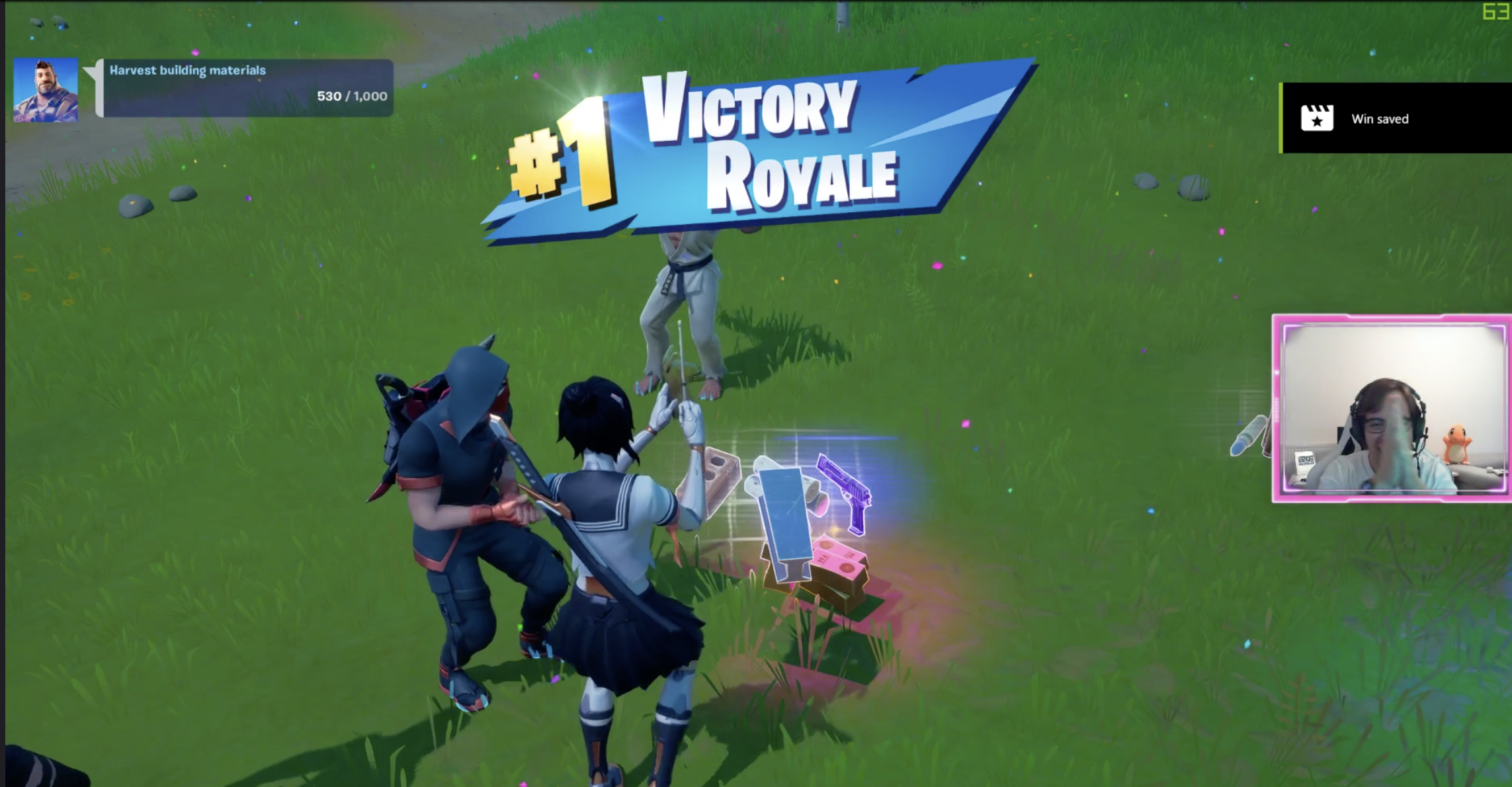 """Our Fortnite Challenge and a not expected """"NO Weapon No Harm"""" WIN"""