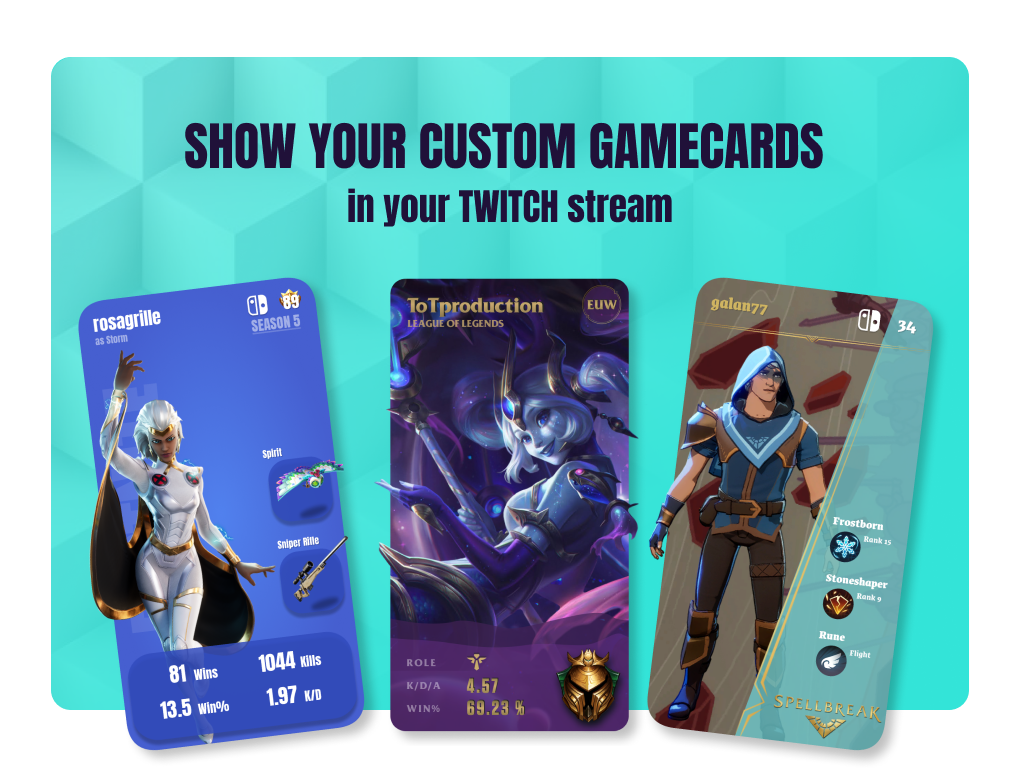 flint.gg Live Gamecard Twitch Extension is RELEASED